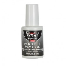 "ProGel ""Super Nail"", MAKE IT MATTE TOP COAT, 14ml."