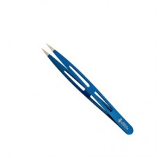 Пинцет синий острый Solingen MERTZ A227Р