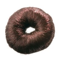 Валик из искусственного волоса коричневый