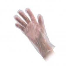 Перчатки одноразовые полиэтиленовые, 100 шт