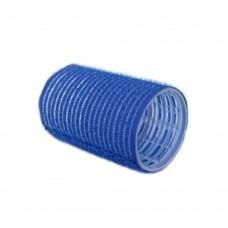 "Бигуди-липучки ""PROFI line"", голубые, 28мм, 12 штук"