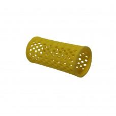 """Бигуди пластиковые """"PROFI line"""", желтые, 30мм, 12 штук"""
