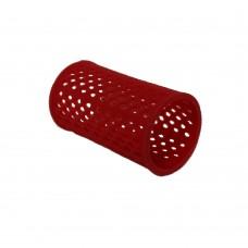 """Бигуди пластиковые """"PROFI line"""", красные, 40мм, 12 штук"""