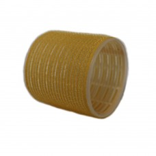 "Бигуди-липучки ""PROFI line"", желтые, 65мм, 6 штук"