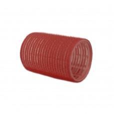 """Бигуди-липучки """"PROFI line"""", красные, 36мм, 12 штук"""