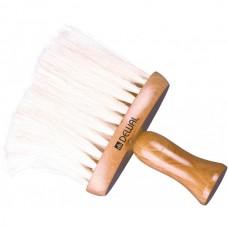Кисть-сметка деревянная с натуральной щетиной, узкая