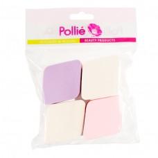 """Спонж, набор макияжный """"Pollie"""", 4шт."""