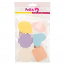 """Спонж, набор макияжный """"Pollie"""", 6шт."""