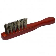 Щетка массажная для бороды и усов, 3-х рядная