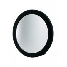 Зеркало черное круглое Fortress 23 см