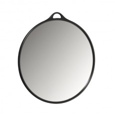 Зеркало круглое черное Babyliss Pro 30 см
