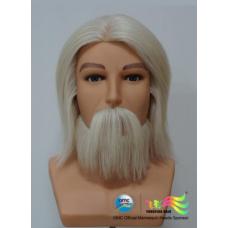 """Голова мужская, """"OMC"""", 100% натуральные волосы, 18 см"""
