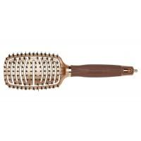 Щетка для волос Olivia Garden Flex Boar Combo