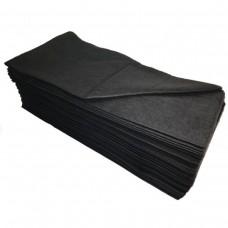Одноразовые полотенца ЧЕРНЫЙ БАРХАТ 35х70 см, 100 шт