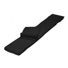 Воротнички черные одноразовые тканевые, 100 шт