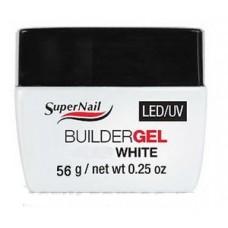 "Гель белый ""Super Nail"" LED/ UV, BuilderGEL White, 56ml."