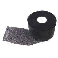 Воротнички бумажные черные на липучке, 100 шт