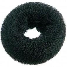 Валик бублик для причесок круглый черный